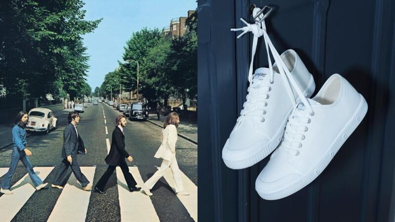 鞋底特別添加薄荷香料!法國小白鞋SPRING COURT來頭可不小,披頭四專輯《Abbey Road》約翰藍儂就是穿它