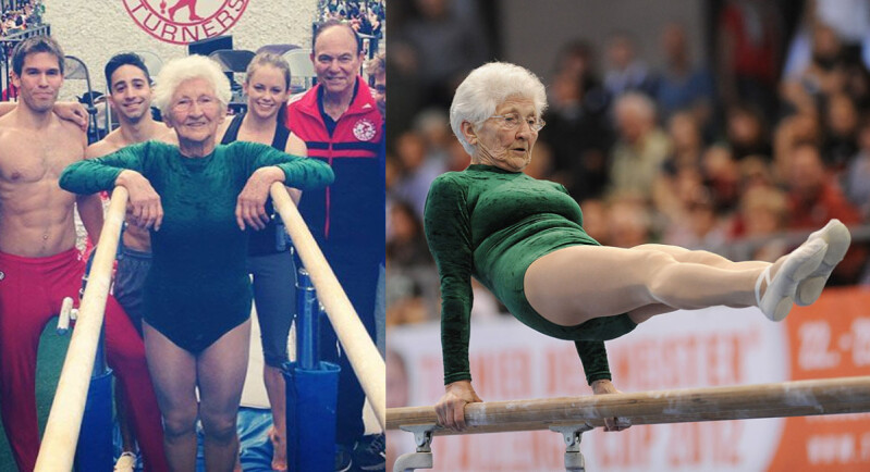 一生做好一件事!93歲德國體操阿嬤 Johanna Quaas ,你永遠都不知道自己的潛能有多大!