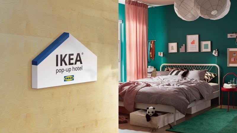 想睡在IKEA裡不是夢!全台唯一「快閃旅店IKEA pop-up hotel」開放申請,免費入住步驟大公開