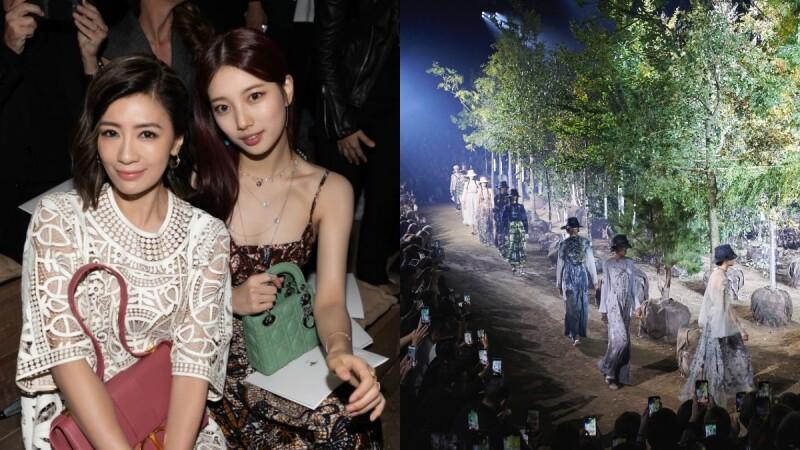 【巴黎時裝週】和女神賈靜雯與秀智,一同在滿載植物芬多精的園藝森林中欣賞Dior 2020春夏大秀!