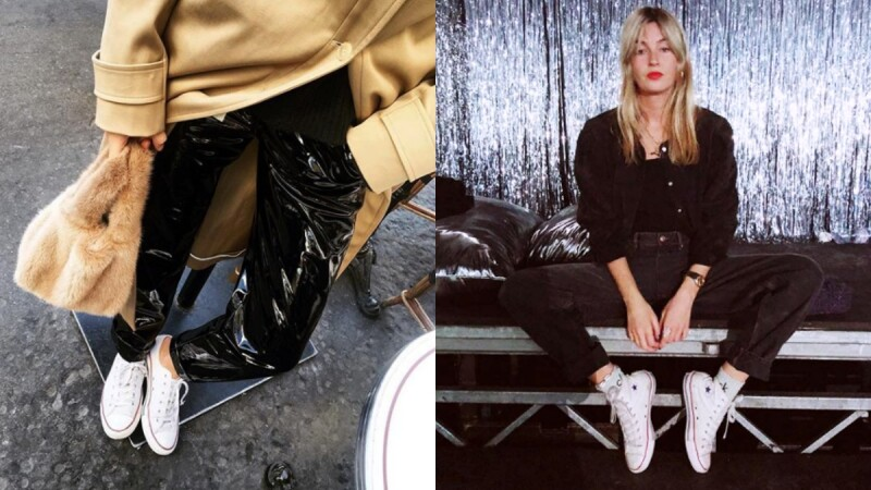 人腳皆一雙的Converse這樣穿才顯時髦!英法混血時尚達人Camille Charriere教你正確駕馭高、低筒Converse!