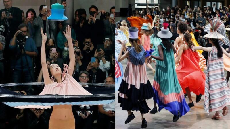 【巴黎時裝週】魔法般從天而降的夢幻衣裳!Issey Miyake新任設計師Satoshi Kondo成功驚豔全場嘉賓!