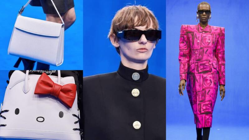 【巴黎時裝週】全新職場美學,屬於Balenciaga的新時尚制服!