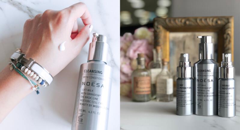 這個光澤肌太療癒,美容編輯最愛的3款Noesa洗臉、保濕、防禦保養品