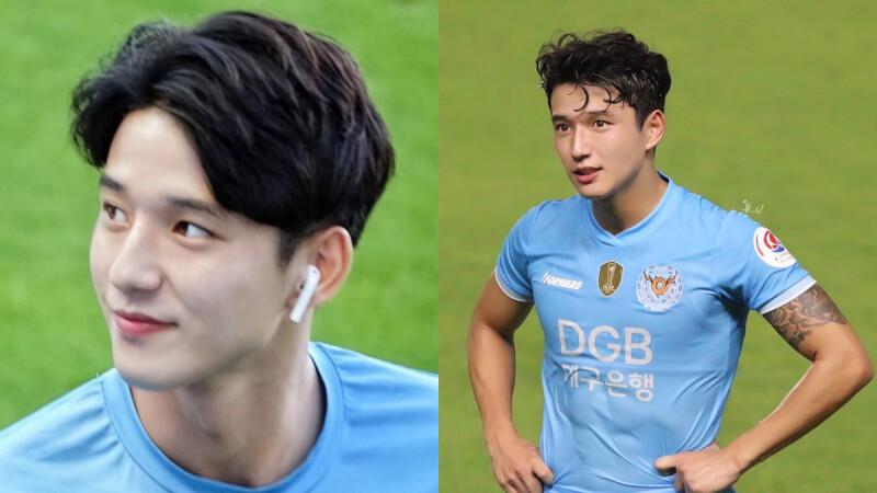 22歲韓國足球小鮮肉鄭勝元(정승원)!有著小清新俊美臉蛋,場上帥氣瞬間讓女孩們都心動了