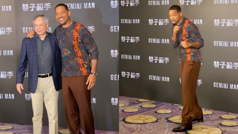 威爾史密斯大讚「台北,是夢想成真的地方」!51歲巨星大叔登台超嗨親切爆表,還搞笑虧李安:「真的是我的粉絲。」