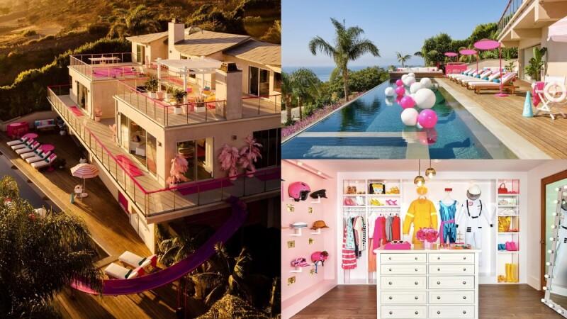 一生只有一次!超夢幻「粉紅芭比別墅」開放預訂,坐擁無邊際泳池、粉紅滑水道、奢華衣櫃,每晚2000元有找