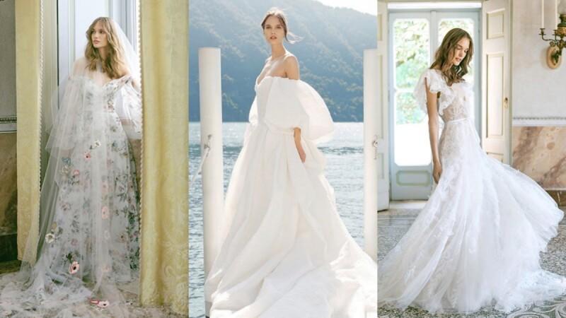 美到令人屏息的Monique Lhuillier婚紗!《格雷》女主角Dakota Johnson 和劉詩詩都曾為它著迷!