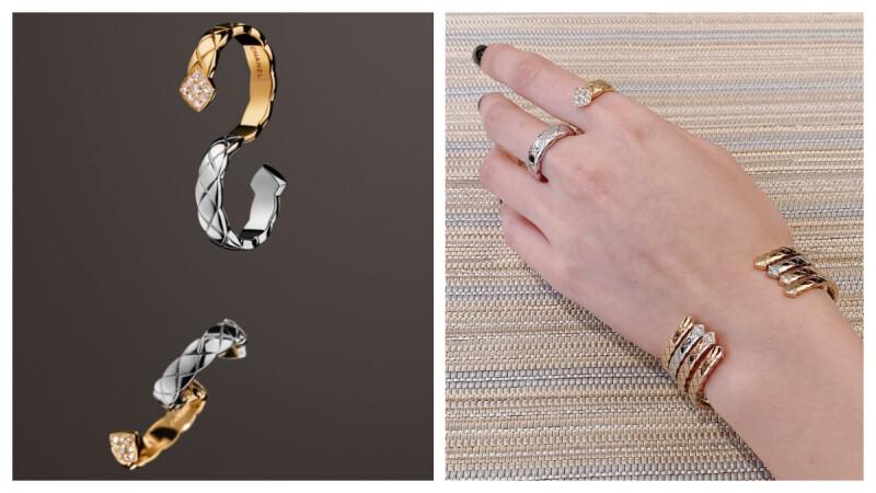 【試戴報告】2019年Chanel Coco Crush 最新珠寶新貨大公開,開放式手環、指間戒、耳環這樣戴最時髦!(附影片與售價)