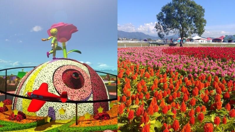 全世界最大朵玫瑰!「2019台中國際花毯節」打造《小王子》童話風美景,必拍花卉、交通資訊總整理