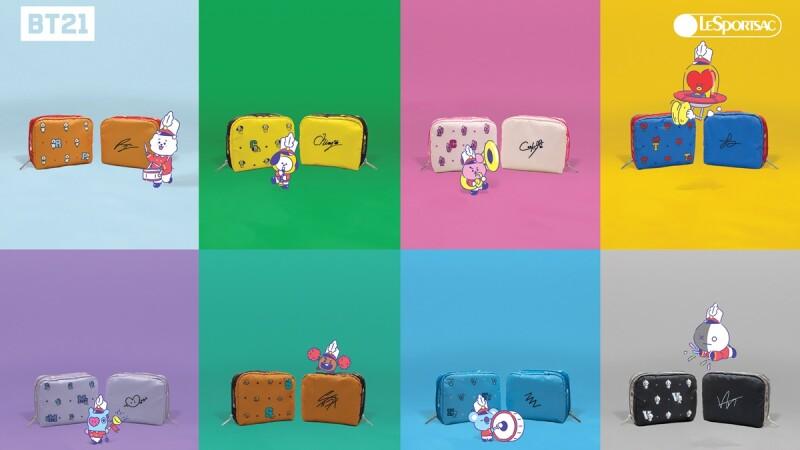 LeSportsac 找上BT21打造聯名手袋、化妝包,全系列品項、價格都整理給你