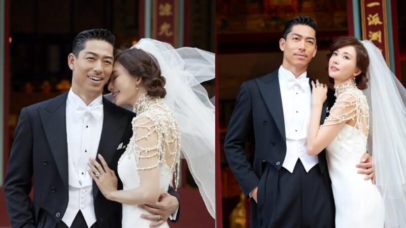 林志玲婚禮「完整誓詞」逼哭老公AKIRA:「謝謝你讓我相信愛情,我不怕驚濤駭浪,我的幸福就是和你在一起。」