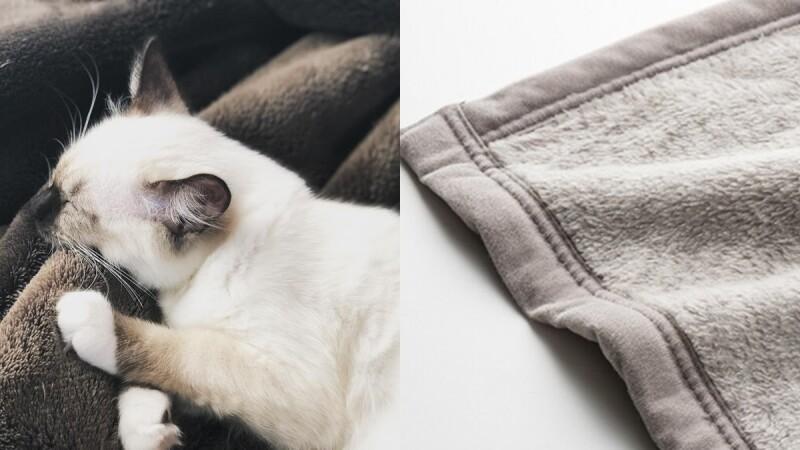 保暖神器!UNIQLO HEATTECH推出「極致保暖毛毯」一蓋上就溫暖,寒冷冬天必備