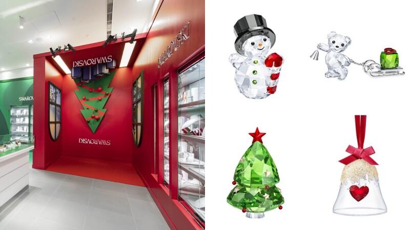 全球唯一就在台灣!SWAROVSKI首間聖誕概念店就開在這處,還有最新聖誕系列一併登場