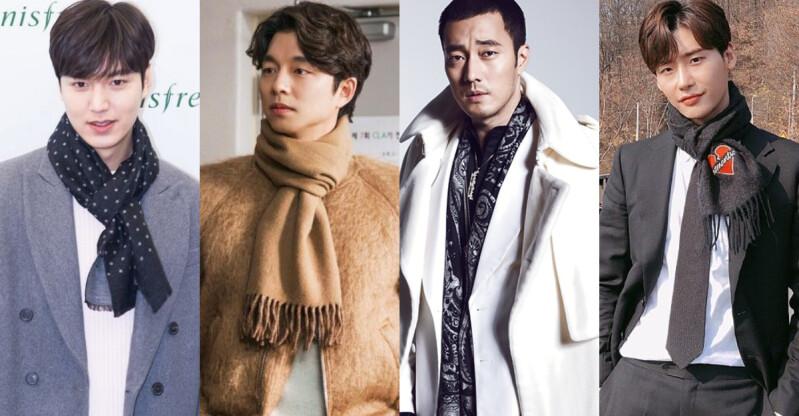 想和他圍同一條巾!從 李敏鎬 到 孔劉 歐巴們的圍巾風格,你最想和誰一起取暖?