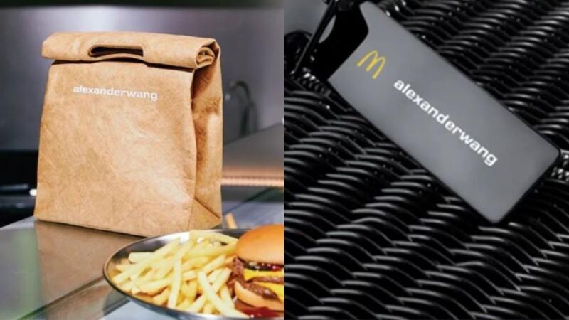 速食龍頭麥當勞也進軍時尚界啦!攜手與Alexander Wang推出三款限量各300個的創意手袋!