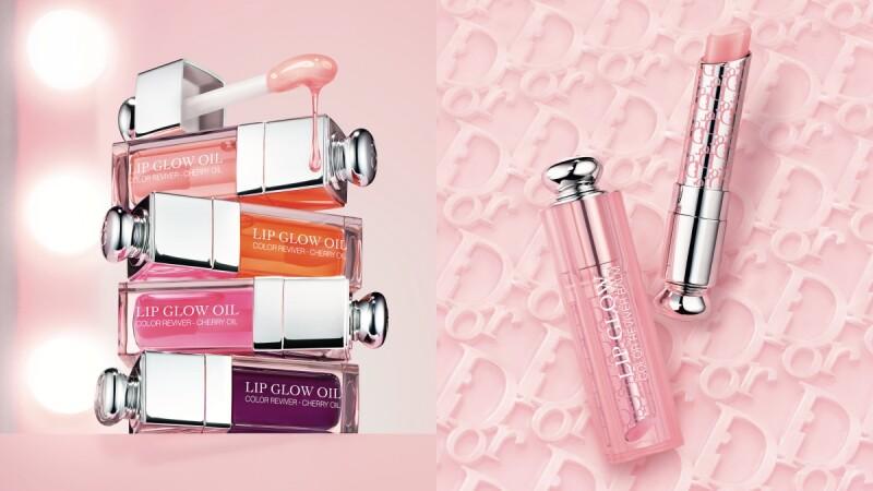 Dior迪奧癮誘粉漾潤唇膏推出「唇釉版」,還有老花Logo的限定包裝,護唇膏控請預備開搶!