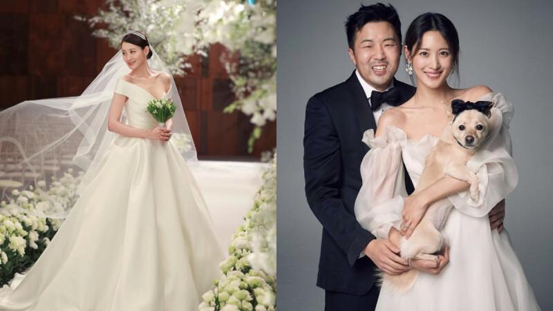 金秀賢結婚了!曾出演《復仇者聯盟2》、《怪獸2》,甜嫁圈外男友曝婚紗照絕美破表