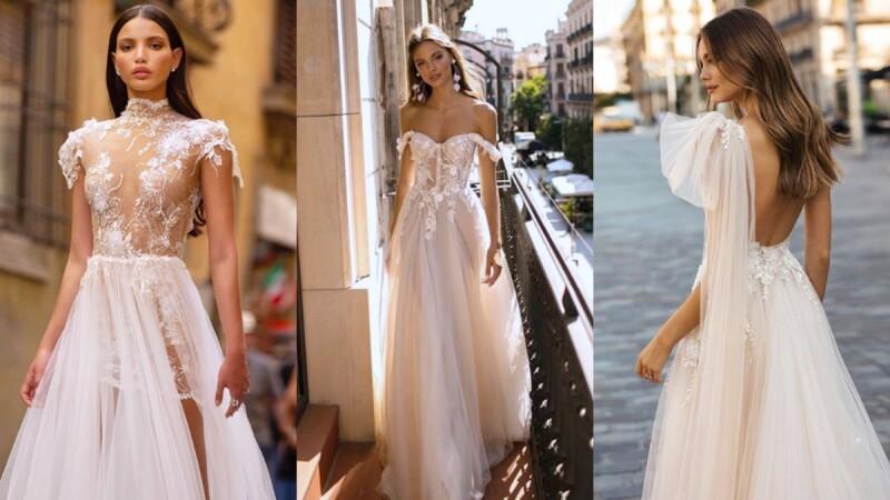 最美的透視嫁紗就在這!以色列婚紗品牌MUSE by berta讓你性感走上婚禮紅毯!