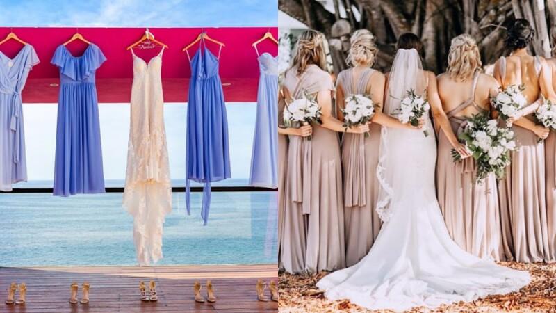 姊妹們必收推薦清單:三間物超所值的伴娘禮服品牌,讓你走出婚禮場合後依然能在約會節日穿上!