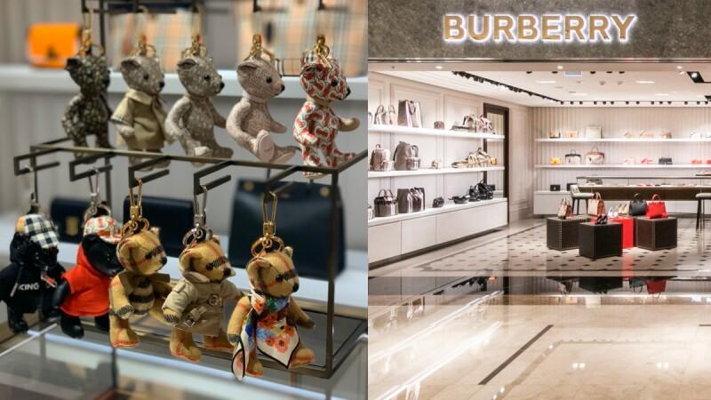 換上夢幻淡粉色新裝!創意總監Riccardo Tisci親手操刀的BURBERRY漢神概念店,經典風衣、圍巾、手袋…系列超齊全