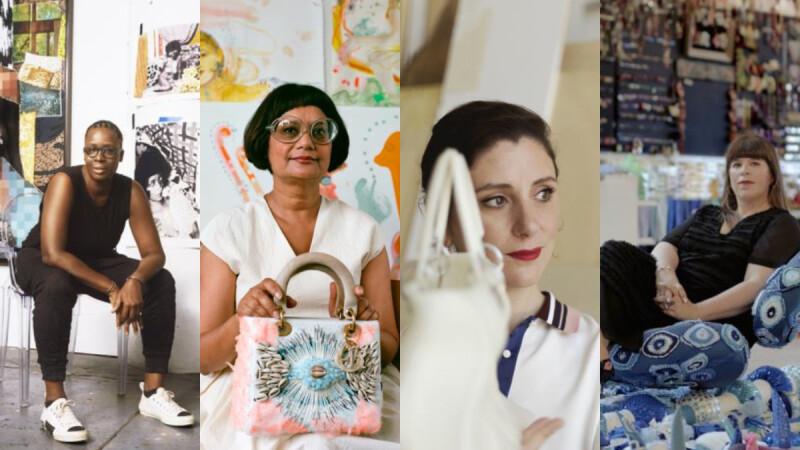 翻轉你對於Lady Dior黛妃包的想像,Lady Dior Art#4 藝術家系列展現超強設計女力!