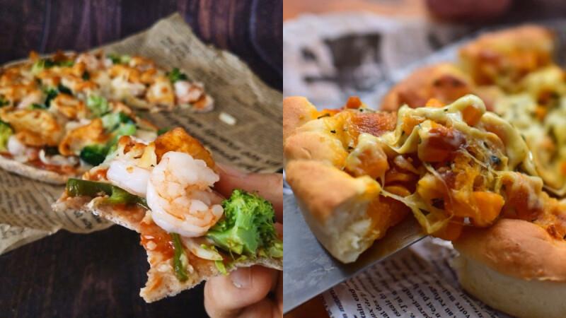 3款夢幻披薩登場!香濃美味/低脂低卡/營養豐富還能瘦!完全滿足減肥期不安分的靈魂!