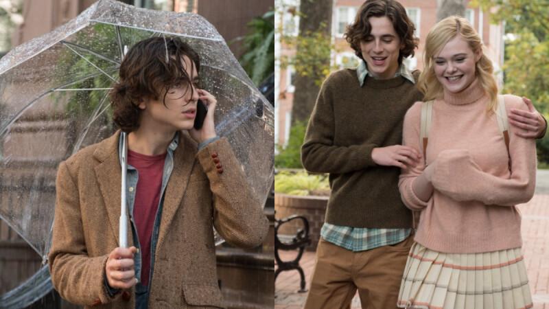 《雨天.紐約》伍迪艾倫2020全新浪漫之作!提摩西夏勒梅、艾兒芬妮、賽琳娜捲三角戀曲