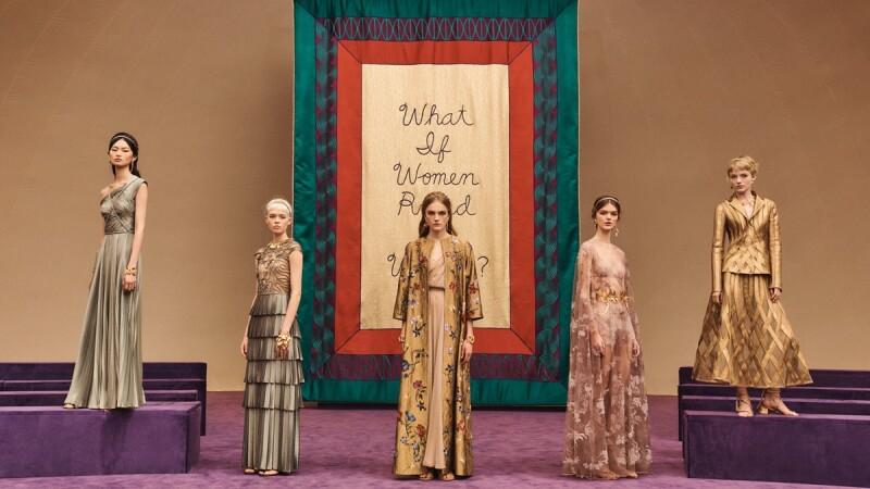 世界由女性主宰!Dior 2020春夏高訂把秀場變聖殿,並化身希臘女神雅典娜