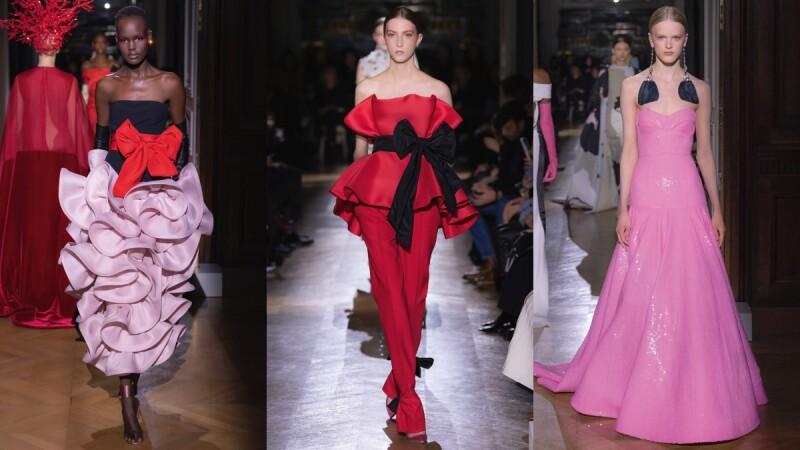 【巴黎高訂週】VALENTINO夢幻禮服,人生擁有一件作夢也會笑!巨大蝴蝶結、立體荷葉邊、海量羽毛超浪漫~