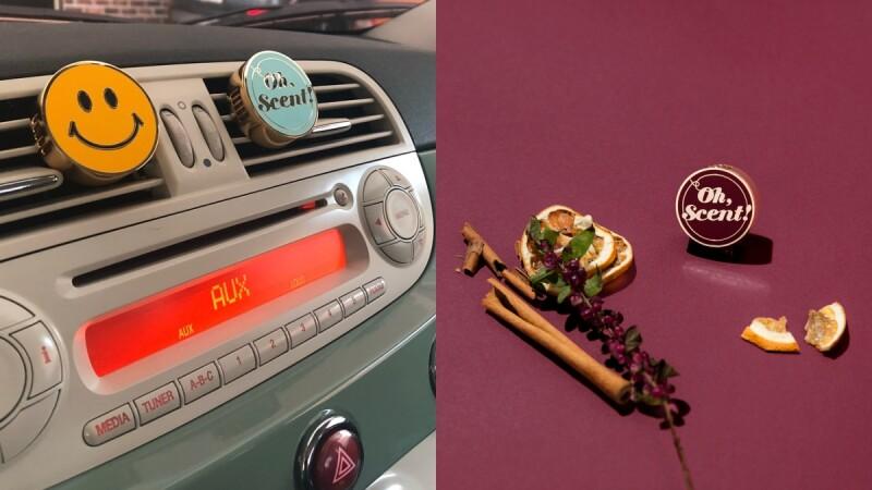韓國賣翻的車用擴香Oh, Scent!引進台灣,除了放車上還能夾在冷氣出風口、電風扇上超實用