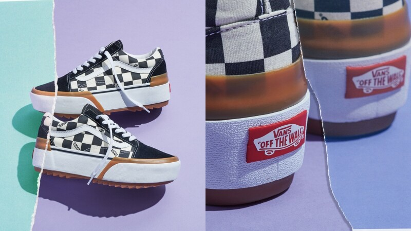 不能只知道Converse Run Star Hike!VANS推出黑白棋盤格Stacked pack厚底鞋款,亮點細節整理在這