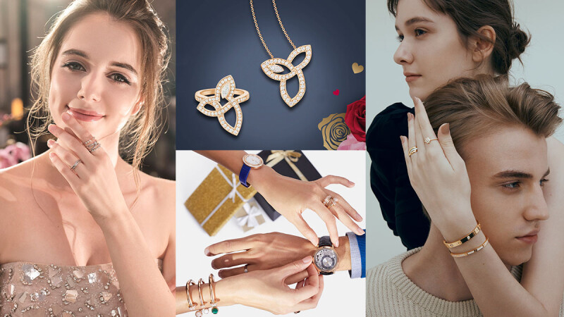 以夢幻璀璨的珠寶美鑽傳遞戀人間浪漫愛情的承諾,永遠是情人節送禮不失手、不踩雷的最佳選擇!