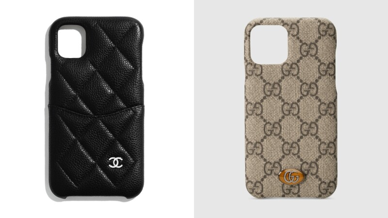 精品iPhone 11手機殼正式開賣!香奈兒菱格紋還配小口袋、GUCCI招牌文青感