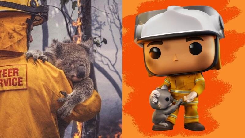 一起保護無尾熊!FUNKO推「澳洲消防員」限量公仔,收益將投入無尾熊救援