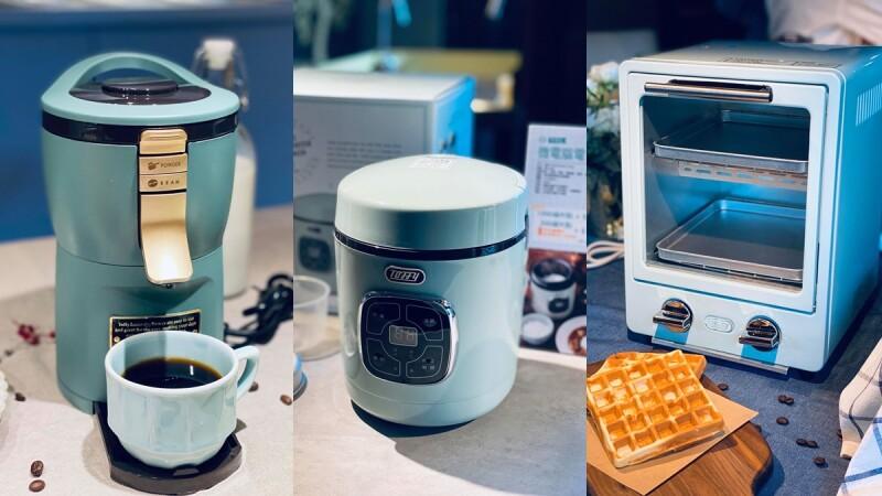全聯新一波點換購商品太夢幻!5款日本TOFFY個人家電,馬卡龍綠電子鍋、烤箱...單身外宿族必收