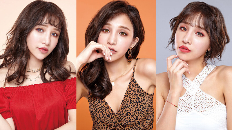 Trend of K-Beauty!韓國潮模大愛的Milovat寵愛彩色隱形眼鏡,讓妳戴上秒變身成為亮麗潮妞!