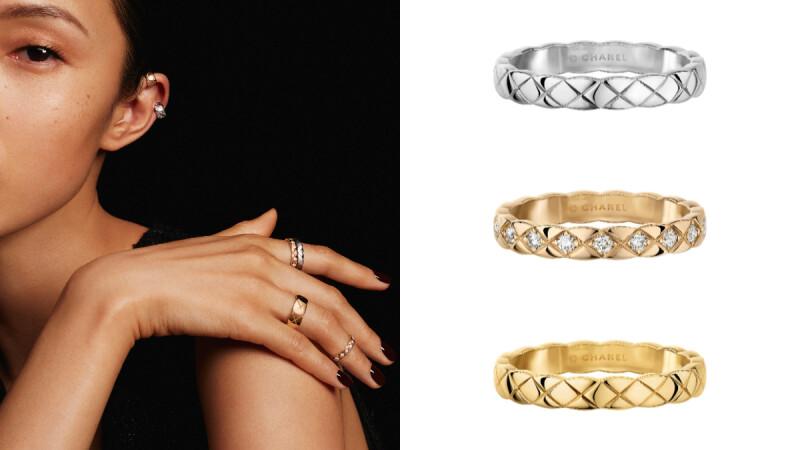 四萬就能入手!Chanel Coco Crush系列2020年全新耳骨扣、最窄版戒指,小香迷快收!