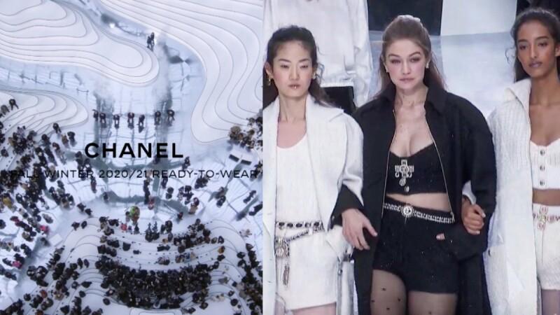 2020秋冬巴黎時裝週|水光粼粼的湖面漫步,香奈兒秋冬大秀,一眼看盡Virginie筆下的風格女子!