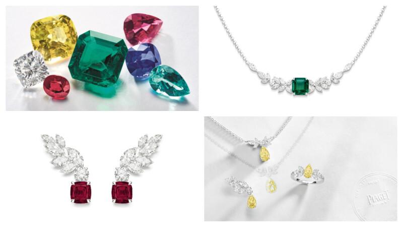 伯爵 Piaget 推出 Treasures Collection 珠寶作品,飛翔的羽翼造型搭配彩色寶石,實在太美、太夢幻了!