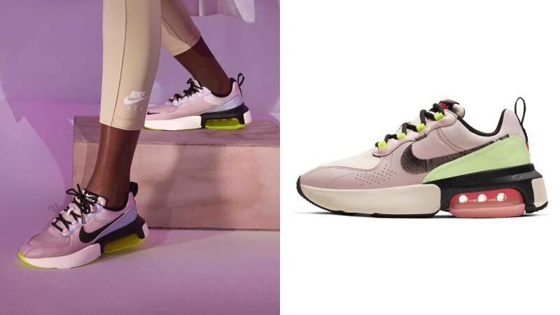 經典勾勾變成刺繡!Nike全新推出粉嫩色系Air Max Verona,氣墊擴大200%走起路來更舒適