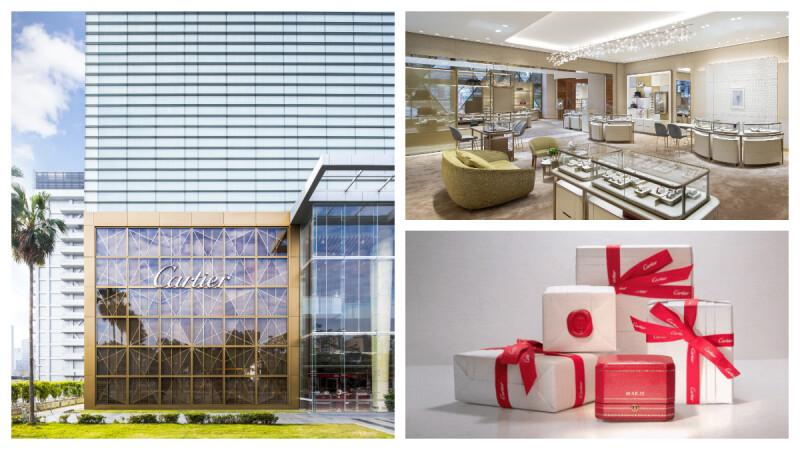 記下此時此刻,Cartier 卡地亞台中概念店推出白色情人節獻禮,獨家燙印服務讓經典紅盒更尊榮!