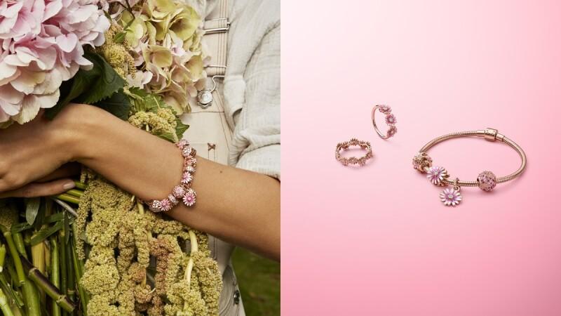 女孩們荷包可要看緊!Pandora春季小雛菊系列集粉嫩、夢幻於一身,還有小蜜蜂、蜻蜓、仙人掌…全新串珠