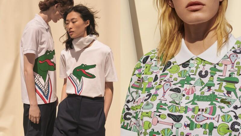 經典鱷魚變童趣!LACOSTE一次攜手3位藝術家推出CROCOSERIES藝術家聯名系列