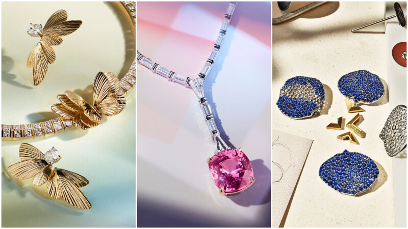 Tiffany Jewel Box 高級珠寶展登台,把美麗的蝴蝶、小鳥、星星等大自然美景全收進珠寶裡,連 Lady Gaga 也愛上。