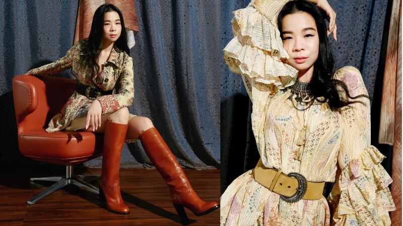時尚女王李瑜的華麗冒險!這個春日,就以ETRO充滿義式風情的百變奢華印花,打造出奔放不羈的迷人風情!