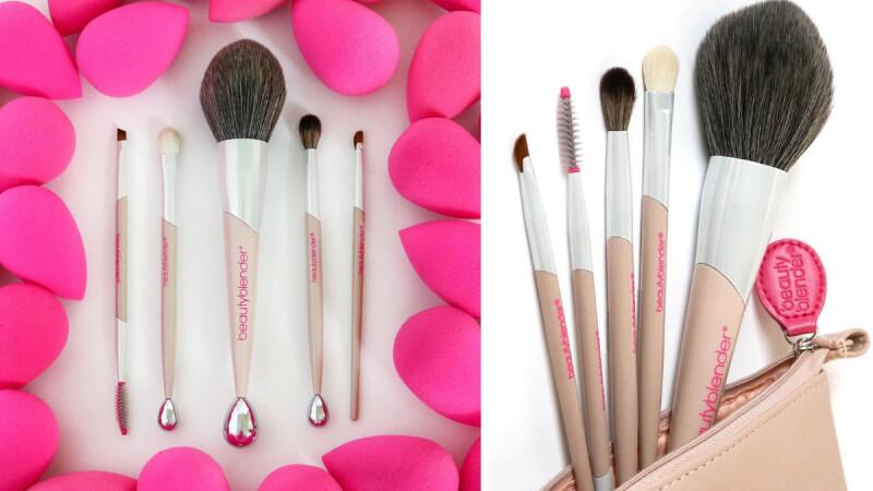 BeautyBlender美妝蛋出刷具了!新增蜜粉刷、眼影刷,還能多功能當做「小臉按摩器」