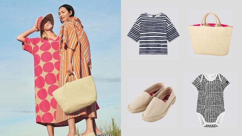 聯名一次比一次厲害!UNIQLO X Marimekko第三次攜手合作,春夏必備草編拖特包、草編鞋都有