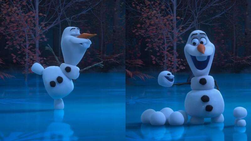 迪士尼推出冰雪奇緣《與雪寶待在家》系列超萌短動畫!玩雪球、跳芭蕾,雪寶防疫期間一個人也不無聊