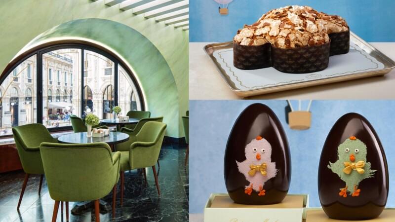 200年歷史「米蘭最美甜點店」Marchesi 1824為抗疫工作加油!送出復活節和平鴿蛋糕體恤第一線醫護人員